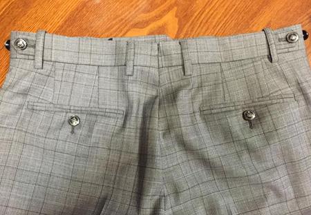 西裤陈列叠法步骤图片