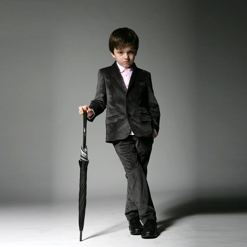 儿童西装 帅气逼人-法国莱克伊登西服定制图片