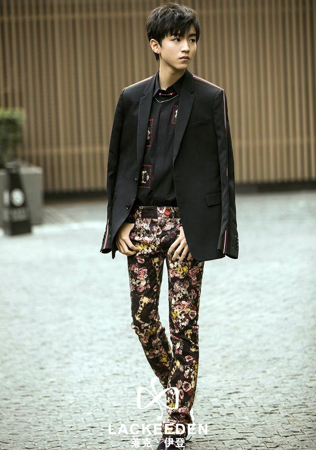 王俊凯时尚大片来袭 少年真的好帅气